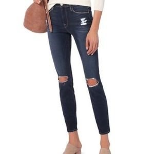 Frame Denim Marlowe Distressed Le High Skinny Jean